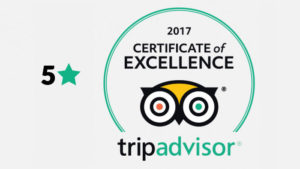 Tripadvisior The Certificate of Excellence